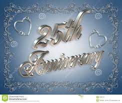 25 wedding anniversary 25th wedding anniversary cards free search