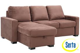 Corner Sofa Chaise Corner Sofa With Chaise And Recliner Stead Kt590 Durango Grey Bed