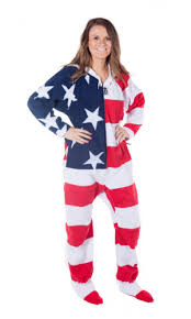 american flag onesies one sleepwear onesie for