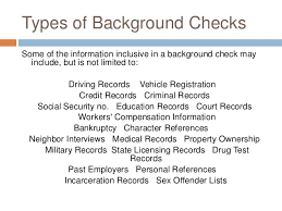 Driving Background Check Presentation Negligent Hiring Due To Lack Of Background Checks