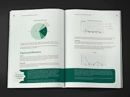 mapping layout perusahaan annual report brochure design contoh desain format layout laporan