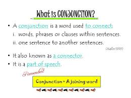 Coordinating And Subordinating Conjunctions Worksheets What Is Conjunction Conjunction U0027s World