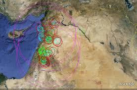 Syria Map Location by Strategic Sam Deployment In Syria