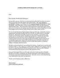 sle letter asking for donations from businesses word doc sle