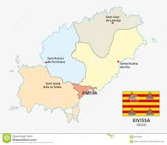Map Of Mediterranean Sea Administrative And Political Map Of The Spanish Mediterranean Sea