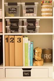 Craft Room Storage Furniture - my pink office and craft room reveal design improvised
