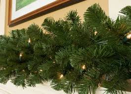artificial commercial garland wholesale christmas garland
