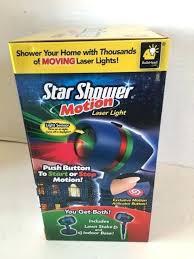motion laser light projector star shower as seen on tv motion laser lights star projector light