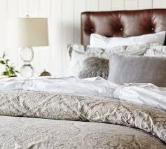 paisley quilt cover u0026 pillowcase blue
