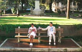 Park Bench Scene Retro Daze Thread Then U0026 Now Shots Of Famous Movie Locations