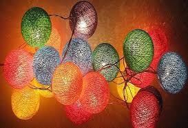 Light Up Balls On String by New Color Cotton Series Rattan Ball Light Led Decoration Night