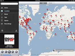 Best Map App Tunein Best Radio App For Ipad Iphone Ipod Touch Obama Pacman
