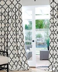 Black White Gray Curtains White Patterned Curtains Contemporary And Modern Custom Drapes On