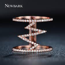 wholesale gold rings images Zoevon wholesale fashion 18k gold trendy geometric wedding bands jpg