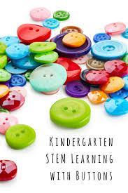stem activities for kindergarten using buttons button themed