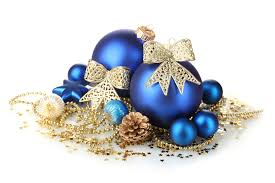 blue and gold ornaments widescreen wallpaper wide