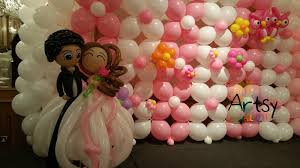 balloon decorations for norman and grace u0027s wedding singapore