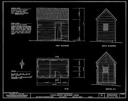 Outhouse Floor Plans by Framed Wall Art Vintage Outhouse Blueprint Free Shipping Wall