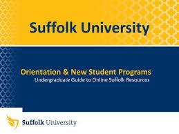 suffolk university undergraduate guide to online suffolk resources