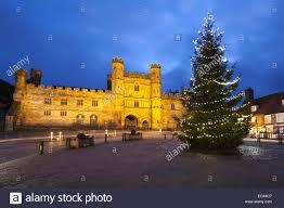 england christmas tree christmas lights decoration
