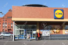 si e auto cdiscount siemianowice slaskie poland march 9 2015 visit lidl