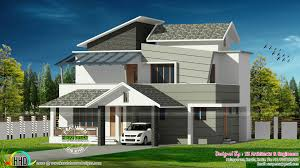 contemporary style kerala home design 2042 sq ft contemporary style house architecture kerala home