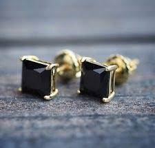 black onyx stud earrings onyx earrings studs for men ebay