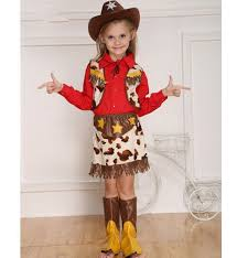 Toddler Cowgirl Halloween Costume Cheap Halloween Costume Cowgirl Aliexpress