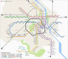 Dubai Metro Map by List Of Delhi Metro Stations Wikipedia