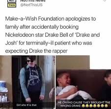 How To Make A Drake Meme - dopl3r com memes this notthisus make a wish foundation