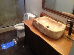 Corner Bathroom Sink by Stone Bathroom Sinks Bathroom