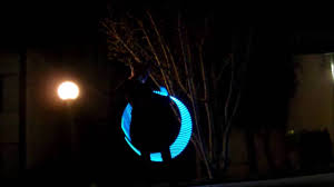 helix led hoop hula hoop led hula hoop flow helix led smart hoop by