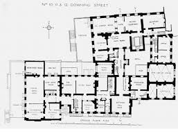 Ground Floor And First Floor Plan by Houses Of State Downing Street Floor Plans London 10 Downing