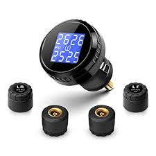 why is my tire pressure light still on amazon com yokaro wireless tpms tire pressure monitoring system