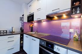 kitchen modern white and purple kitchen stunning u shaped purple