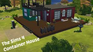 sims 4 speed build modern container house youtube