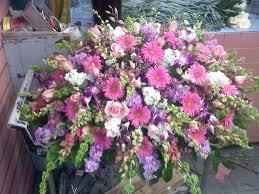 pink u0026 purple casket spray mr bokay flowers u0026 greenhouse