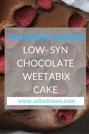 slimming world weetabix chocolate brownies witwitwoo