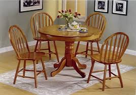 round oak kitchen table and chairs oak kitchen chairs with soft