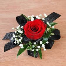 Red Rose Corsage 28 Best Prom Images On Pinterest Prom Flowers Wrist Corsage And