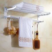 Bathroom Towel Shelves Shelves With Towel Racks