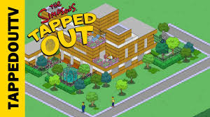Springfield Map How To Make A Full Map Screenshot In Tapped Out Youtube