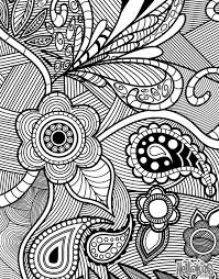 Unique Ideas Intricate Coloring Pages For Adults Free Printable Free Intricate Coloring Pages