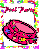 pool party invitations for kids template best template collection