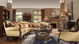homey design hd 5927 manchester sectional set usa furniture