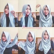 tutorial hijab pashmina tanpa dalaman ninja shialatinos