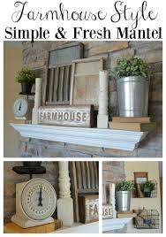 Little Country Kitchen by 4 Tips For Decorating The Mantel Little Vintage Nest