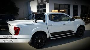 nissan navara customised ute lids ute hard tops and hard covers flat top products