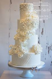 wedding cake exeter white wedding cake with silver pearl touches white sugar