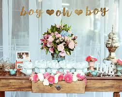 baby shower decorations boy baby shower decorations boy etsy